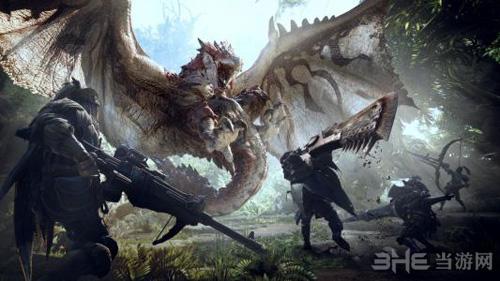 怪物猎人世界游戏海报