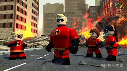 乐高超人总动员游戏图片