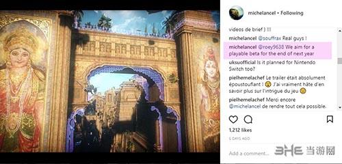 Michel Ancel的instagram