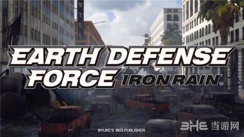 地球防卫军:铁雨游戏宣传图