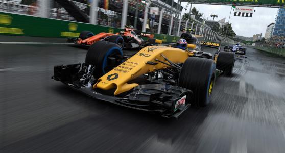 F1 2017截图