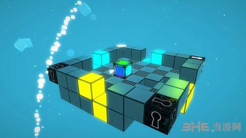 彩色方块游戏宣传图