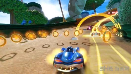 团队索尼克赛车游戏截图2