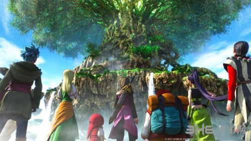 勇者斗恶龙游戏宣传图