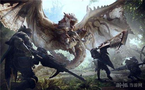 怪物猎人世界封面