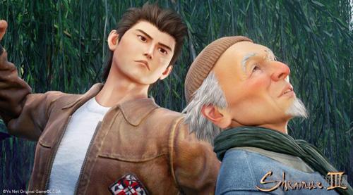 莎木3游戏宣传截图