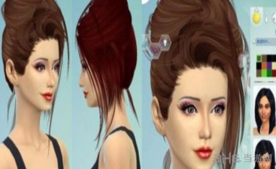 模拟人生4女性甜美公主头发MOD截图0