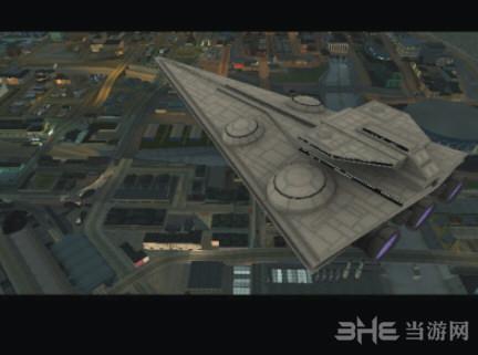 侠盗猎车手:圣安地列斯星球大战飞行器地图MOD截图0
