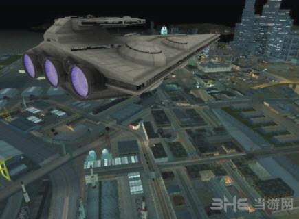 侠盗猎车手:圣安地列斯星球大战飞行器地图MOD截图2