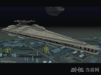 侠盗猎车手:圣安地列斯星球大战飞行器地图MOD截图1