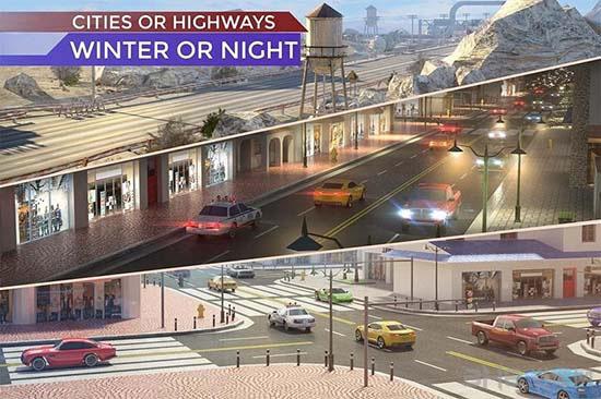 交通:非法公路赛车5截图0
