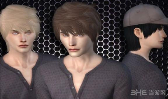 模拟人生4男生清新发型MOD截图0