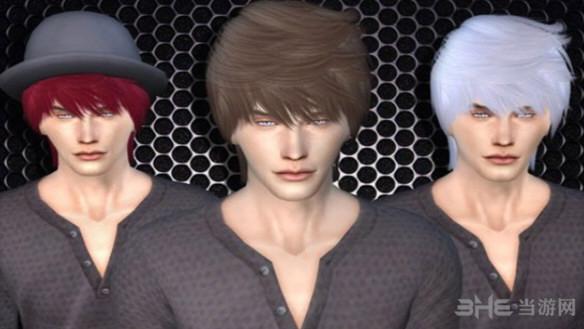 模拟人生4男生清新发型MOD截图1