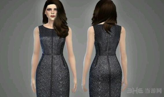模拟人生4金属质感裙装MOD截图0