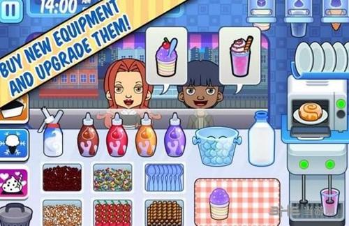 彩虹冰淇淋店手游截图0