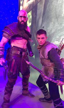E3 2018现场图赏 战神与秃子老父亲现身