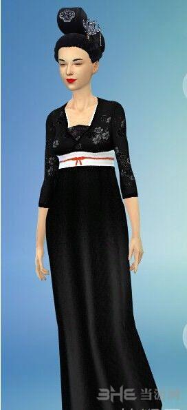 模拟人生4唐代风格衣服MOD截图0
