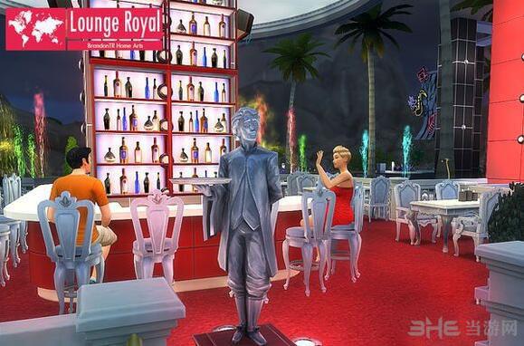 模拟人生4高大上酒吧MOD截图2