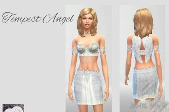 模拟人生4天使女装MOD截图0