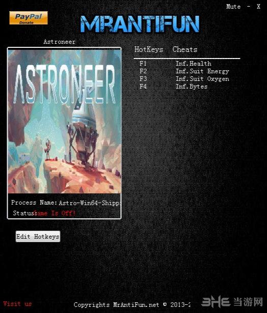 异星探险家四项修改器截图0