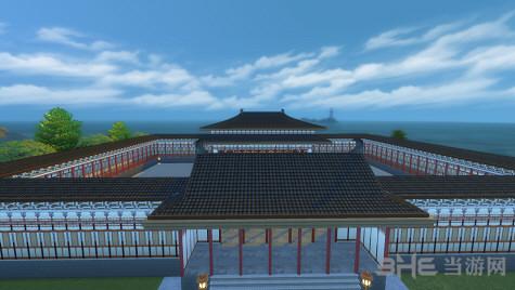 模拟人生4唐朝风格大殿建筑MOD截图0
