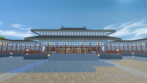 模拟人生4唐朝风格大殿建筑MOD截图1