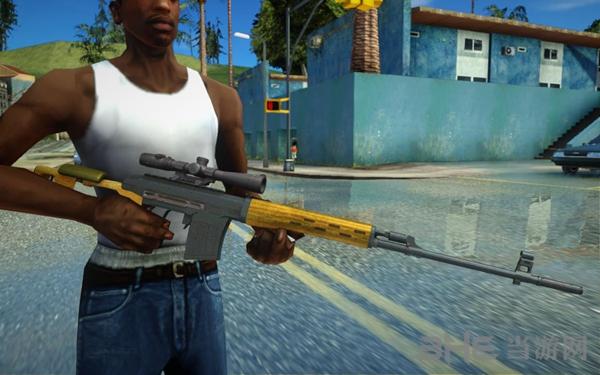 侠盗猎车手:圣安地列斯荒野行动狙击枪武器包MOD截图0