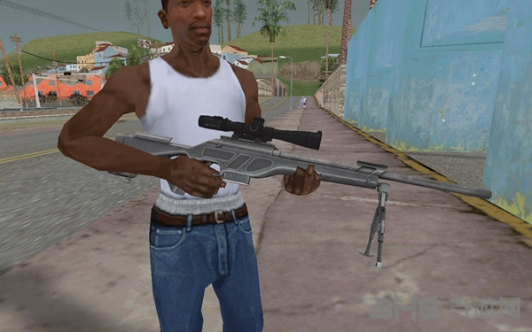 侠盗猎车手:圣安地列斯荒野行动狙击枪武器包MOD截图2