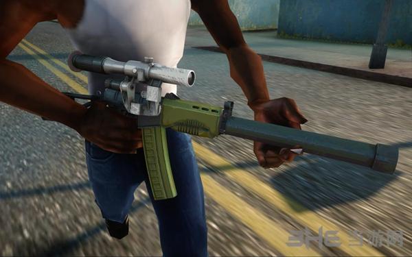 侠盗猎车手:圣安地列斯荒野行动狙击枪武器包MOD截图3
