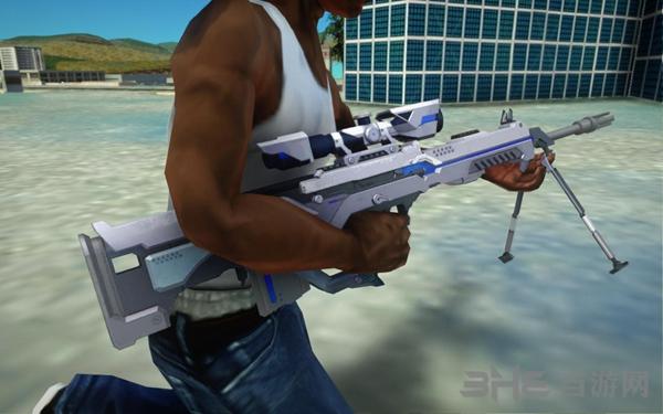 侠盗猎车手:圣安地列斯荒野行动狙击枪武器包MOD截图4