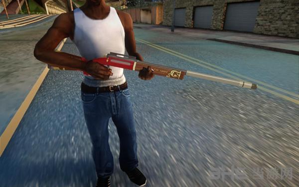 侠盗猎车手:圣安地列斯荒野行动狙击枪武器包MOD截图6