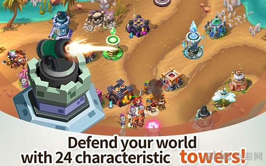 英雄防御之王无限宝石截图3