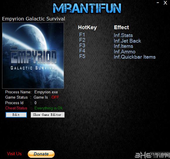 帝国霸业:银河生存五项修改器截图0