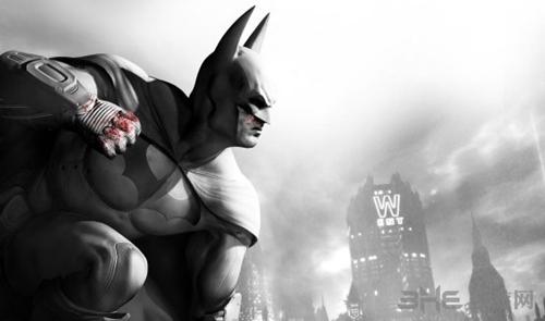 蝙蝠侠阿卡姆之城封面