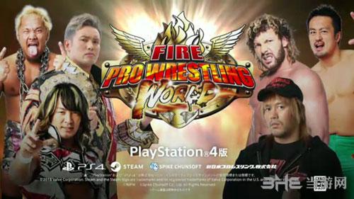 超火爆摔角世界游戏宣传图