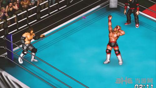 超火爆摔角世界游戏截图4
