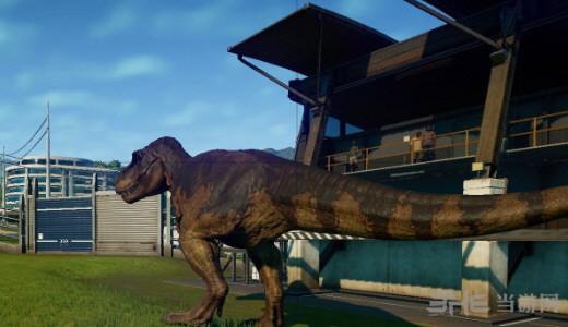 侏罗纪世界进化霸王龙1