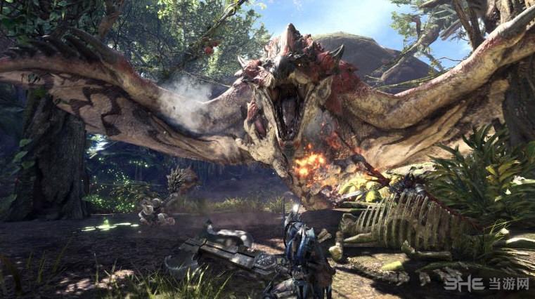 怪物猎人世界游戏截图3