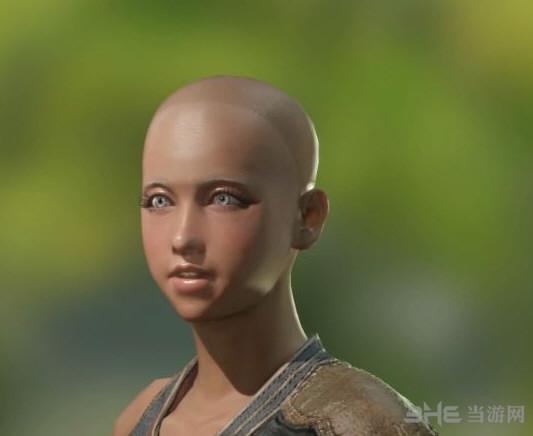 怪物猎人世界黑皮肤萝莉捏脸图片1
