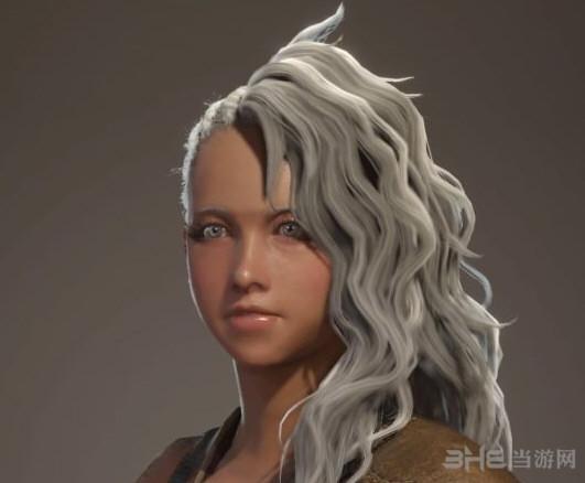 怪物猎人世界黑皮肤萝莉捏脸图片3