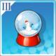 飘雪水晶球