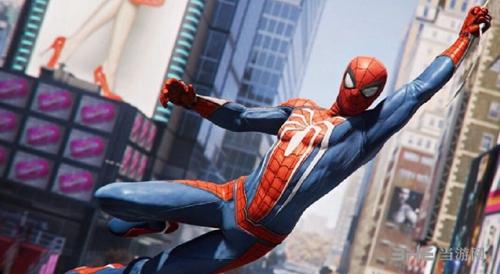 蜘蛛侠游戏宣传图