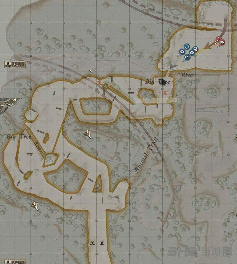 战场女武神4地图2