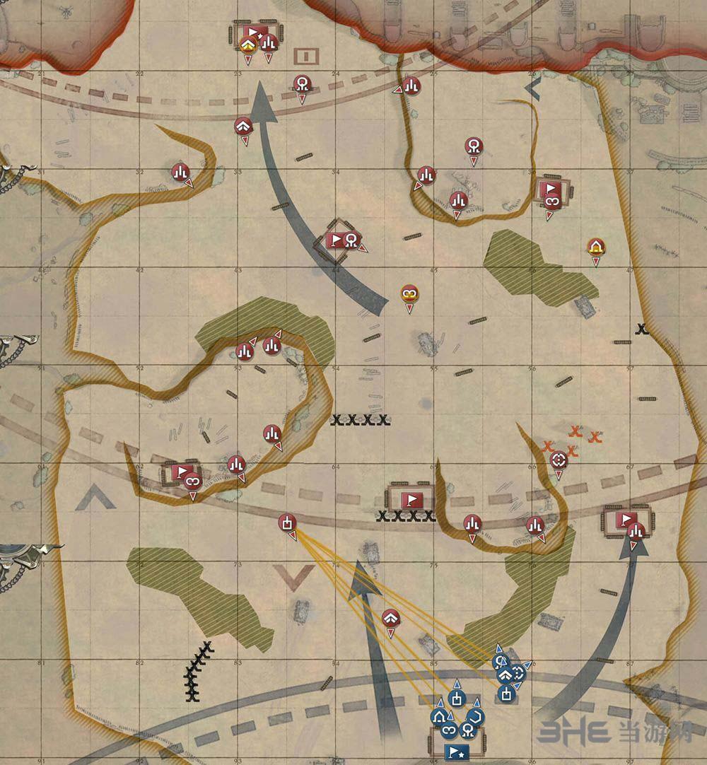 战场女武神4地图1