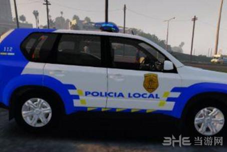 侠盗猎车手5 2008款日产X-Trail警车MOD截图0