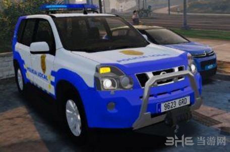 侠盗猎车手5 2008款日产X-Trail警车MOD截图1
