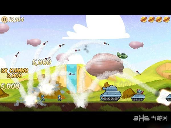 香肠轰炸机截图0