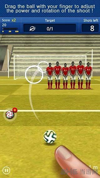 手指足球:任意球截图1