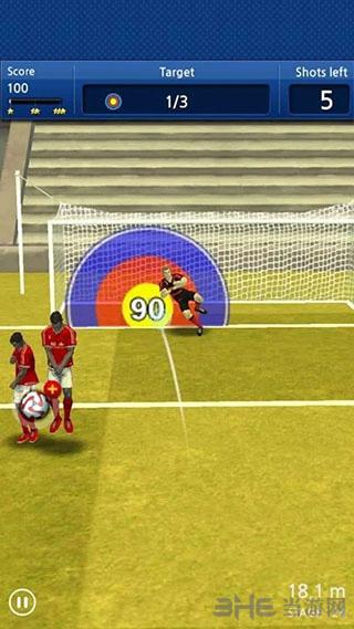 手指足球:任意球截图4