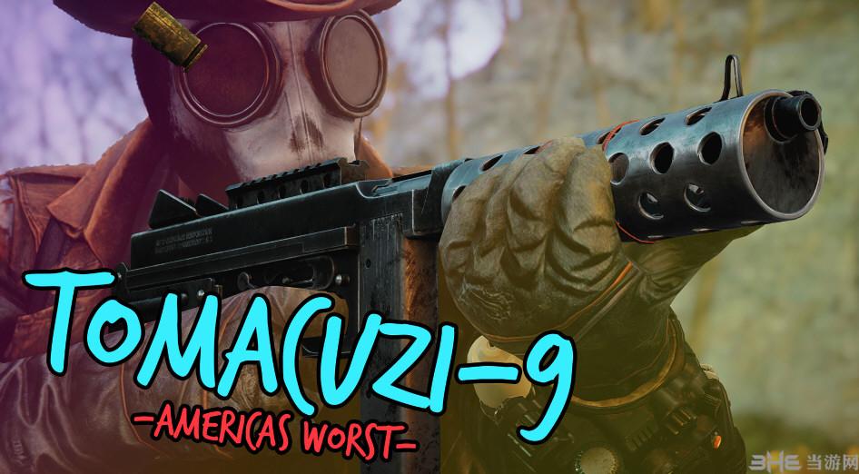 辐射4冲锋枪三合一Tomacuzi9MOD截图0